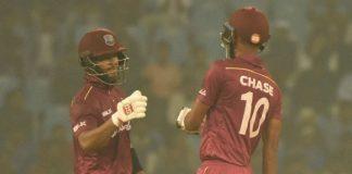 Roston Chase,Shai Hope,West Indies vs Afghanistan ODI Series,West Indies vs Afghanistan,WI vs AFG Ist ODI 2019