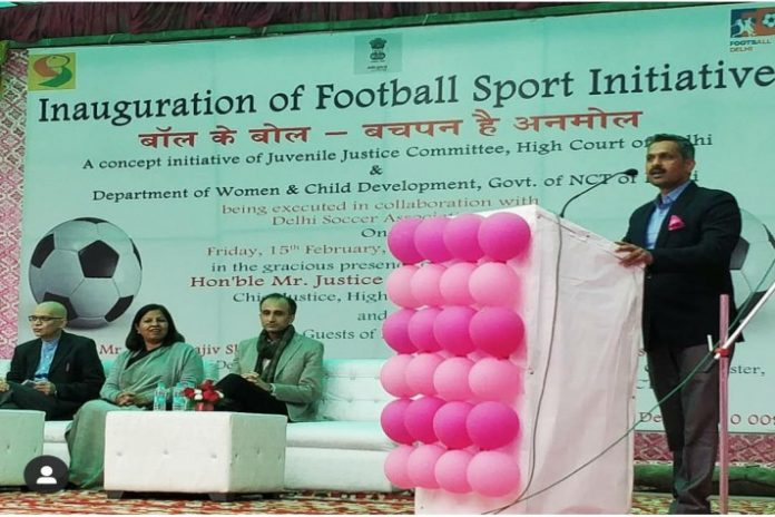 Football Delhi,Juvenile Homes Football League,Juvenile Football Programme,AU Small Finance Bank,Sports Business News India