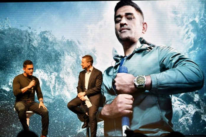 MS Dhoni,Panerai Watches,MS Dhoni Brand Ambassador,Sports Business News India,Italian luxury watch