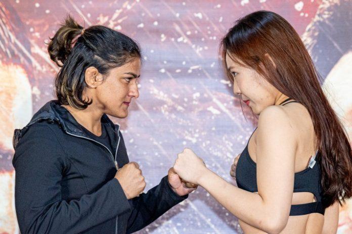 Ritu Phogat,Nam Hee Kim,Indian wrestler,ONE Championship,Mixed Martial Arts World Championship
