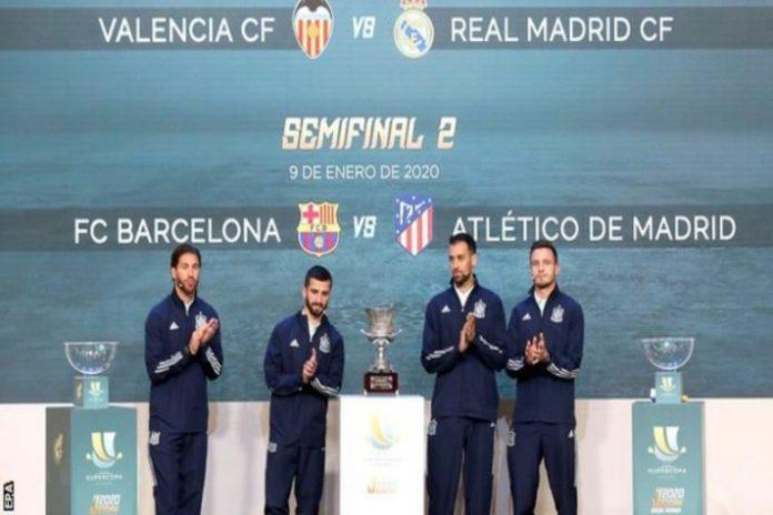 Real Spanish Football Federation,Spanish Super Cup,Saudi Arabian Football Federation,La Liga Teams,Sports Business News