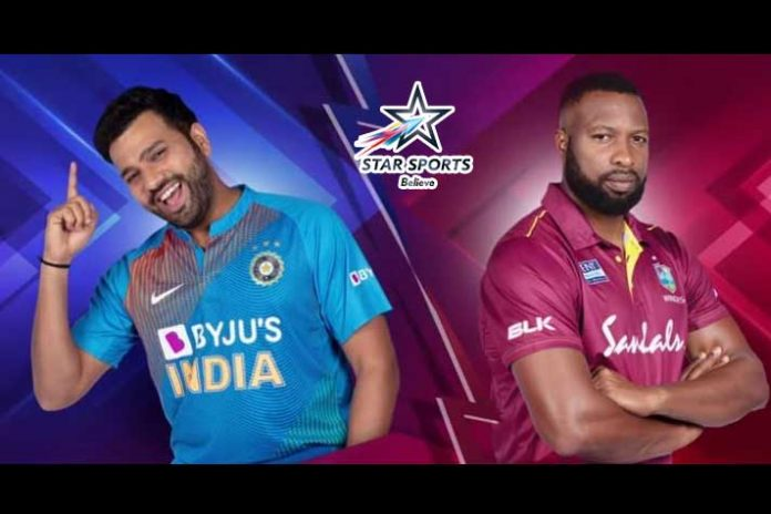 Star Sports,India vs West India LIVE,India vs West Indies T20 Series,IND vs WI T20,Sports Business News India