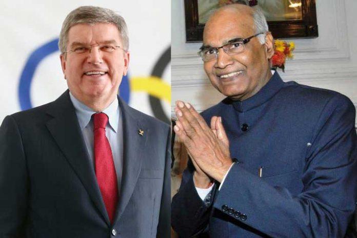 Ram Nath Kovind,Thomas Bach,Olympics 2020,Olympic Games,Sports Business News