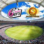 BBL LIVE Telecast,BBL LIVE,BBL LIVE Streaming,Big Bash League LIVE,Perth Scorchers vs Sydney Sixers LIVE