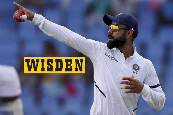 Virat Kohli,Cricketers of the Decade,Wisden Cricketers,AB de Villiers,MS Dhoni