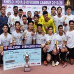 Football Delhi,CISF,Khelo India B Division League,Magan Singh Patwal,Liakat Ali