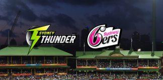 BBL LIVE,BBL LIVE Telecast,BBL LIVE Streaming,Sydney Sixers vs Sydney Thunder LIVE,Big Bash League LIVE
