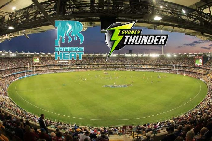 BBL 2019,BBL LIVE,BBL 2019 LIVE,Big Bash League LIVE,Brisbane Heat vs Sydney Thunder
