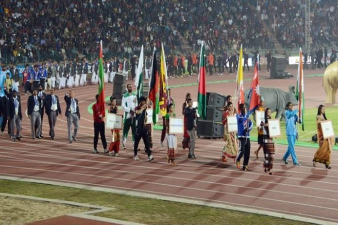 South Asian Games,Adarsha M N Sinimol,Bishworjit Srikhom,South Asian Games 2019,Basanta Tharu