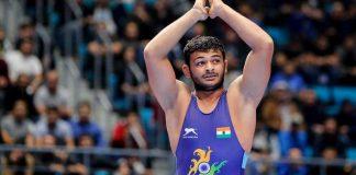 Deepak Punia,United World Wrestling,Junior Wrestler of the year 2019,Kushti India,Wrestling News India