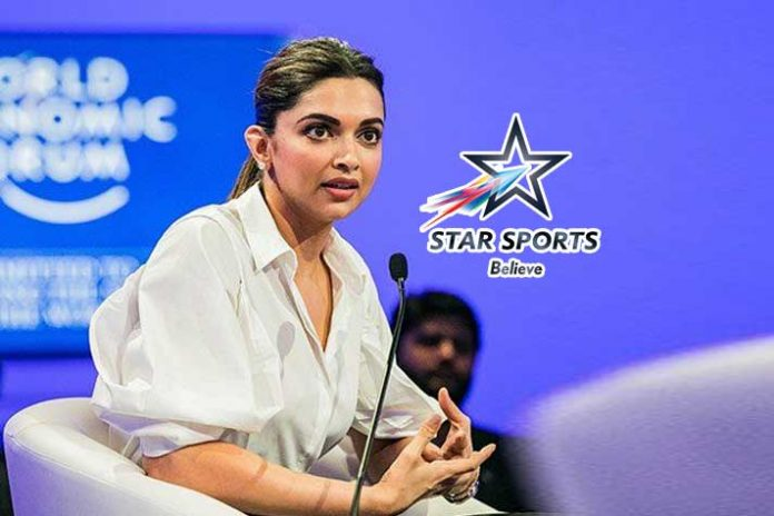 Deepika Padukone,Star Sports,India vs West Indies 3rd T20,IND VS WI LIVE,India vs West Indies LIVE,IND vs WI 3RD T20 LIVE