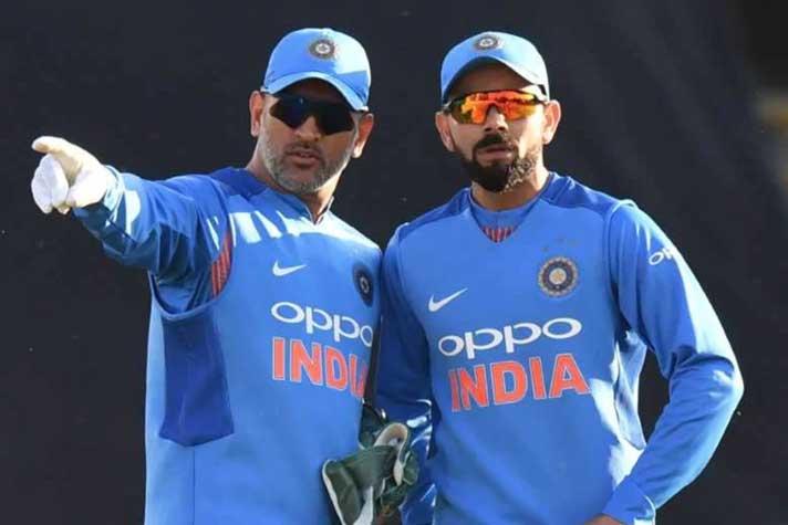 Cricket's biggest brand icons Kohli, Dhoni named to lead Cricket Australia's teams
