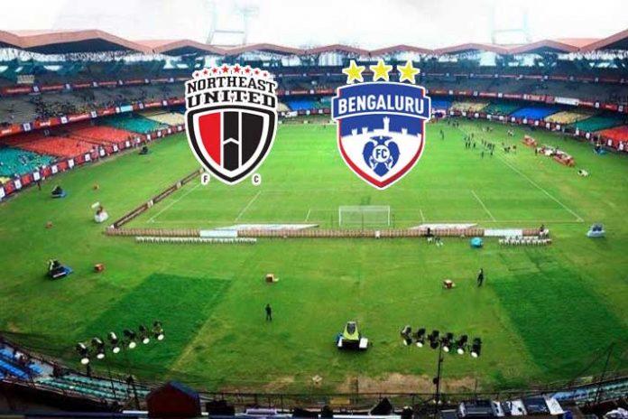 ISL LIVE,ISL 2019,ISL 2019 LIVE,NorthEast United vs Bengaluru FC LIVE, Indian Super League LIVE