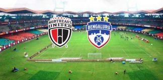 ISL 2019 LIVE,ISL LIVE,Indian Super League LIVE,NorthEast United FC vs Bengaluru FC LIVE,ISL schedule