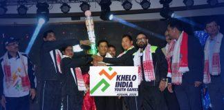 Sarbananda Sonowal,Khelo India Youth Games,India Youth Games 2020,Kiren Rijiju,Khelo India Torch Relay