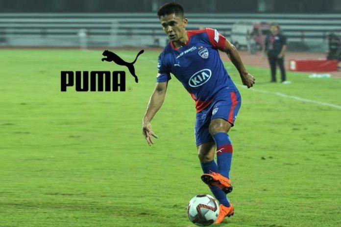 Sunil Chhetri,PUMA,India Football Player,Virat Kohli,Sports Business News