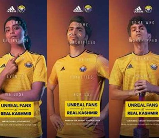 Real Kashmir campaign,adidas,Real Kashmir FC,Indian Football club,Sports Business News