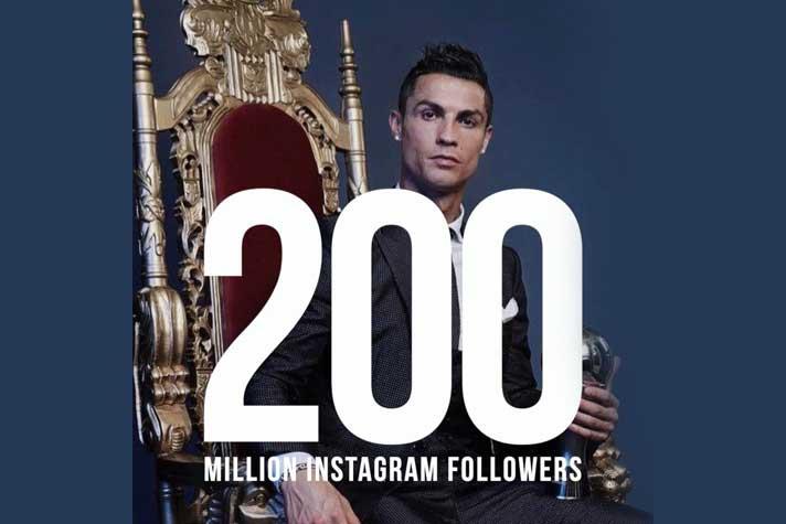 Over 20 Crore Following Ronaldo On Instagram Sports Business News