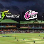 BBL LIVE,BBL LIVE Streaming,BBL LIVE telecast,Big Bash League LIVE,Sydney Thunder vs Sydney Sixers LIVE