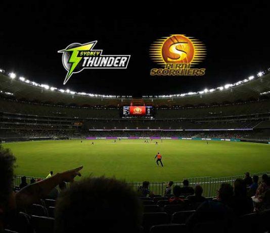 BBL LIVE,BBL LIVE Streaming,BBL LIVE telecast,Big Bash League LIVE,Perth Scorchers vs Sydney Thunders LIVE