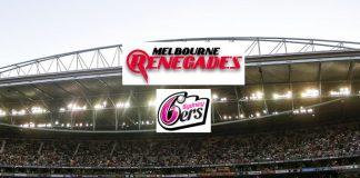 BBL LIVE,BBL LIVE Streaming,BBL LIVE telecast,Big Bash League LIVE,Melbourne Renegades vs Sydney Sixers LIVE