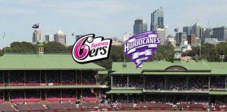 BBL LIVE,BBL LIVE Streaming,BBL LIVE telecast,Big Bash League LIVE,Sydney Sixers vs Hobart Hurricanes LIVE