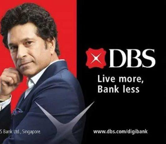 Sachin Tendulkar,DBS Bank,DBS Bank Brand Ambassador,DBS Bank India,Sports Business News India