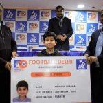 Football Delhi,Athletic Drive,Golden League,Mrinank Sharma,Dhiraj Jha