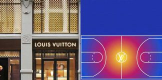 Louis Vuitton fashion brand,National Basketball Association,NBA football game,Sports Business News,Charlotte Hornets