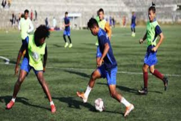 NEROCA FC vs Real Kashmir FC Highlights,I-League Highlights,Boubacar Diarra,I-League 2020 Highlights,I-League 2020