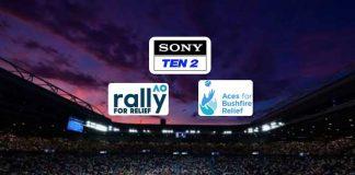 AO Rally for Relief LIVE,AO Rally for Relief 2020,Australian Open 2020,AO Rally for Relief 2020 LIVE,Australian Tennis