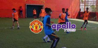 Apollo Tyres,Manchester United football club,Manchester United Soccer School,Manchester United's U-18 team,Sports Business News
