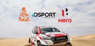 Hero MotoCorp,Lex Sportel,Dakar Rally,DSport,Sports Business News India