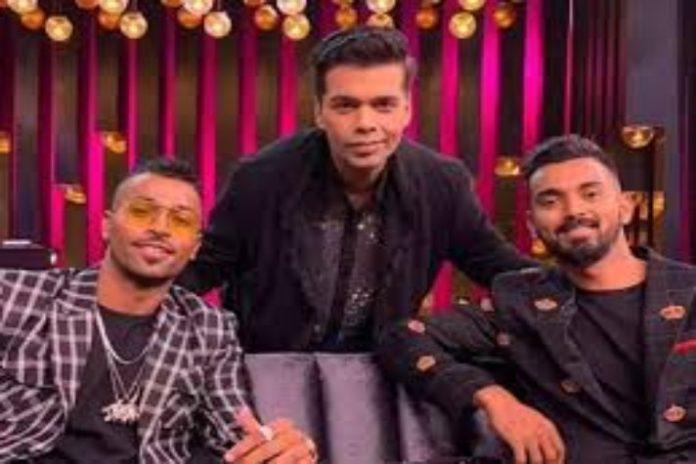Hardik pandya,K L Rahul,Koffee with Karan,BCCI,Cricket India