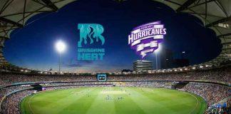 BBL LIVE,BBL LIVE Streaming,BBL LIVE telecast,Big Bash League Live,Brisbane Heat vs Hobart Hurricanes LIVE