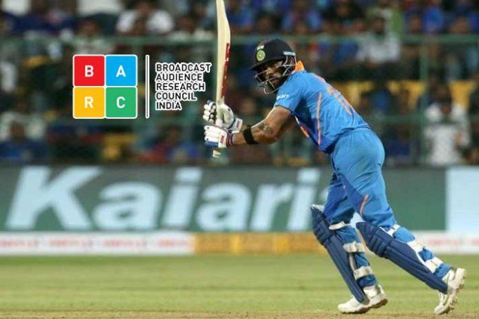 BARC Ratings,Star Sports 1 Hindi,India-Australia series,BARC Tv Rating,Sports Business News India