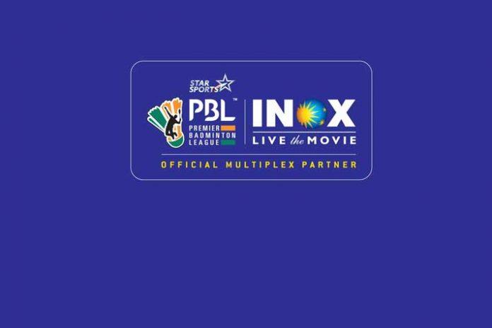Star Sports,Premier Badminton League,INOX Leisure Ltd,Star Sports PBL,Sports Business News India