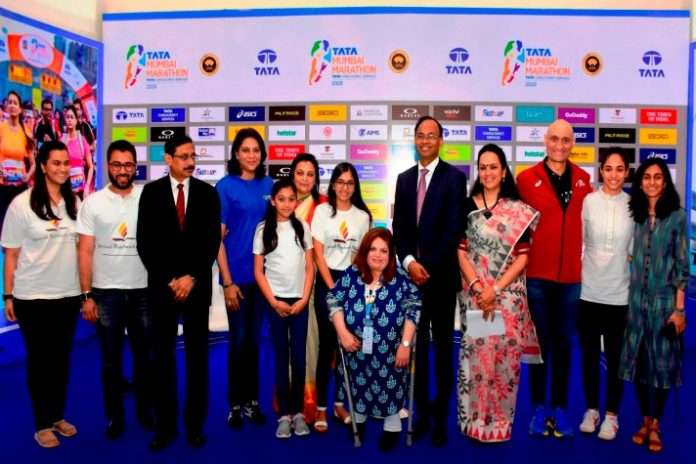 Tata Mumbai Marathon 2020,Mumbai Marathon 2020,Mumbai Marathon charity record,TMM 2020,Sports Business News India