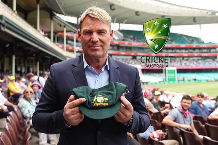 Shane Warne,Cricket Australia,Warne Baggy Green,Australia Bushfire,Sports Business News