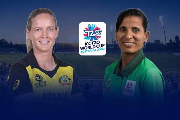 Australia vs Bangladesh Women's T20 World Cup LIVE,ICC Women's T20 World Cup LIVE,AUS vs BAN women's T20 world cup LIVE,Australia vs Bangladesh T20 LIVE telecast,AUS vs BAN women's T20 LIVE