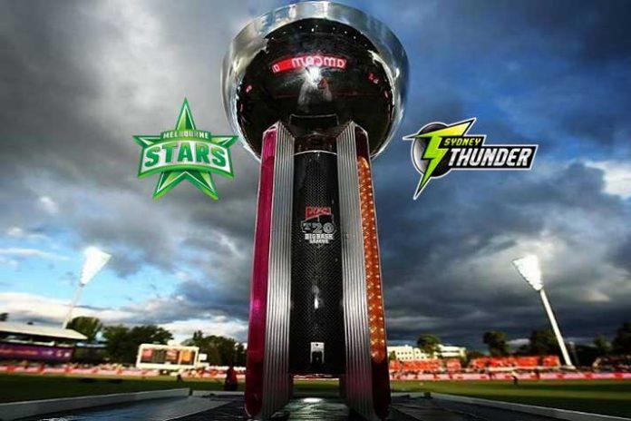 BBL LIVE,BBL LIVE Streaming,BBL LIVE telecast,Big Bash League LIVE, Melbourne Stars vs Sydney Thunder LIVE