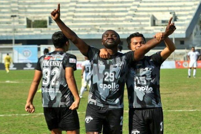 I-League 2020 Highlights,I-League Highlights,Punjab FC vs Real Kashmir FC Highlights,Dipanda Dicka,I-League 2020