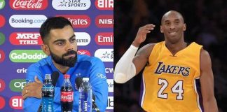 Virat Kohli,Kobe Bryant,NBA games,Basketball players,Kobe Bryant dead