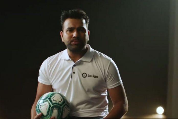 Rohit Sharma,LaLiga brand ambassador,Rohit Sharma brands,LaLiga facebook watch,Sports Business News