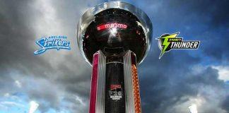 BBL Qualifiers LIVE,BBL LIVE Streaming,BBL LIVE telecast,Big Bash League LIVE,Adelaide Strikers vs Sydney Thunder LIVE