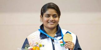 Tokyo Olympics: Olympic-bound Rahi Sarnobat put up good show to clinch the women's 25m pistol gold medal at the ISSF Shooting World Cup.
