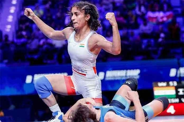 Asian Wrestling Championships 2020,Asian Wrestling Championships,Vinesh Phogat,Kushti India,Wrestling News India