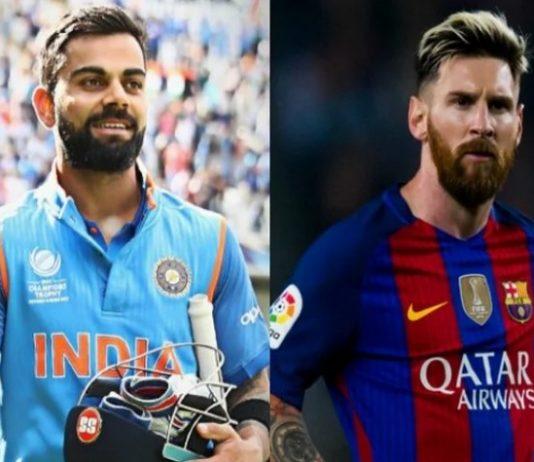 Lionel Messi,Virat Kohli,Footy 100,Most highest earning sport,Sports Business News India