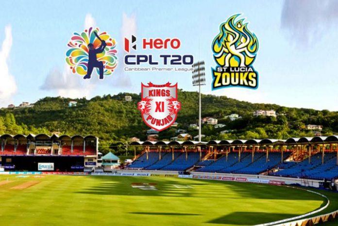 Kings XI Punjab,Caribbean Premier League,St Lucia Zouks,KPH Dream Cricket,Sports Business News India