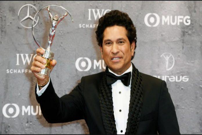 Sachin Tendulkar,Laureus Awards,Laureus sporting moment award,Sachin Tendulkar Laureus award,Sports Business News India